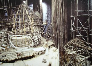 Ewok Village Construction