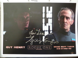 Guy Henry - CGI Grand Moff Tarkin
