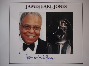 James Earl Jones signed