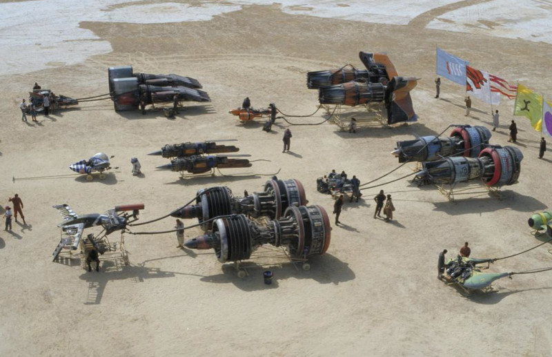 Podracers Gather