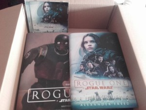 Rogue One books and CD