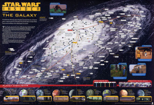 Star Wars Insider - Galaxy Map