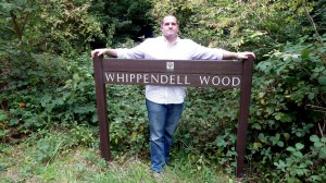 Me at Whippendell Woods