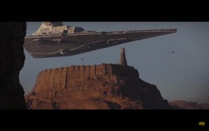 Jedha - Star Destroyer