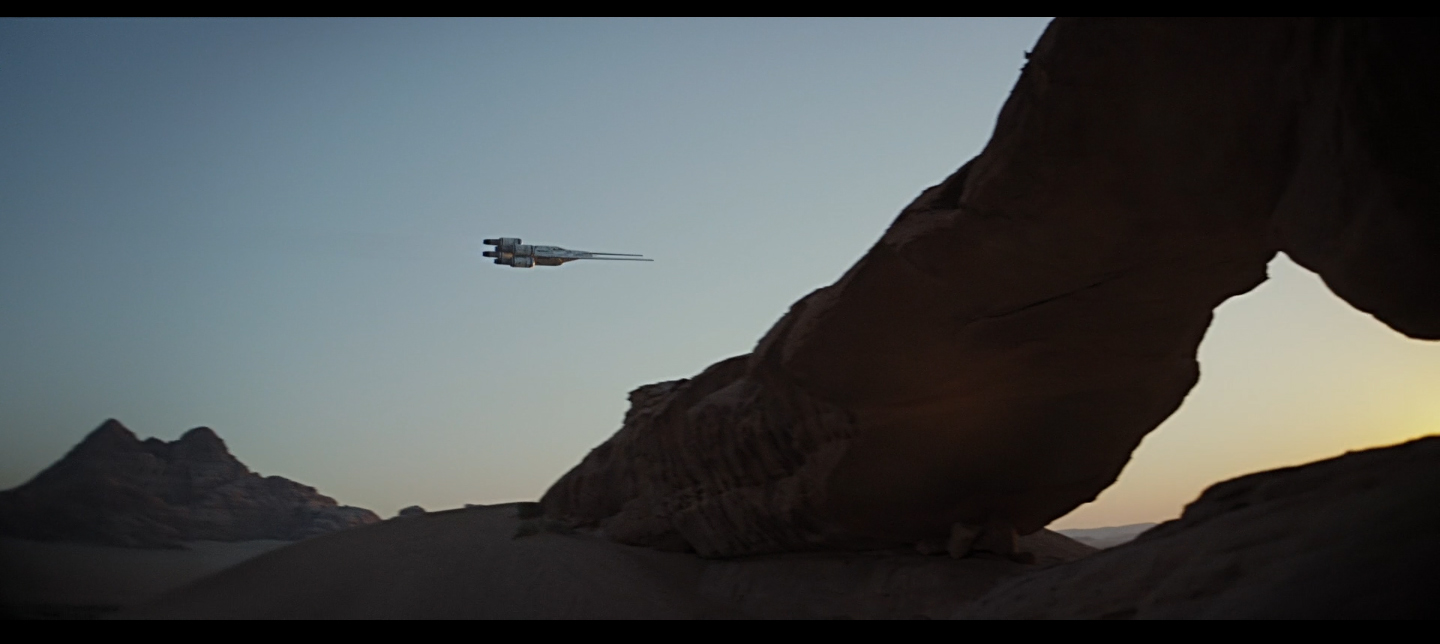 Rogue One Jedha arrival
