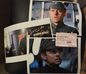 Michael Pennington Autographs