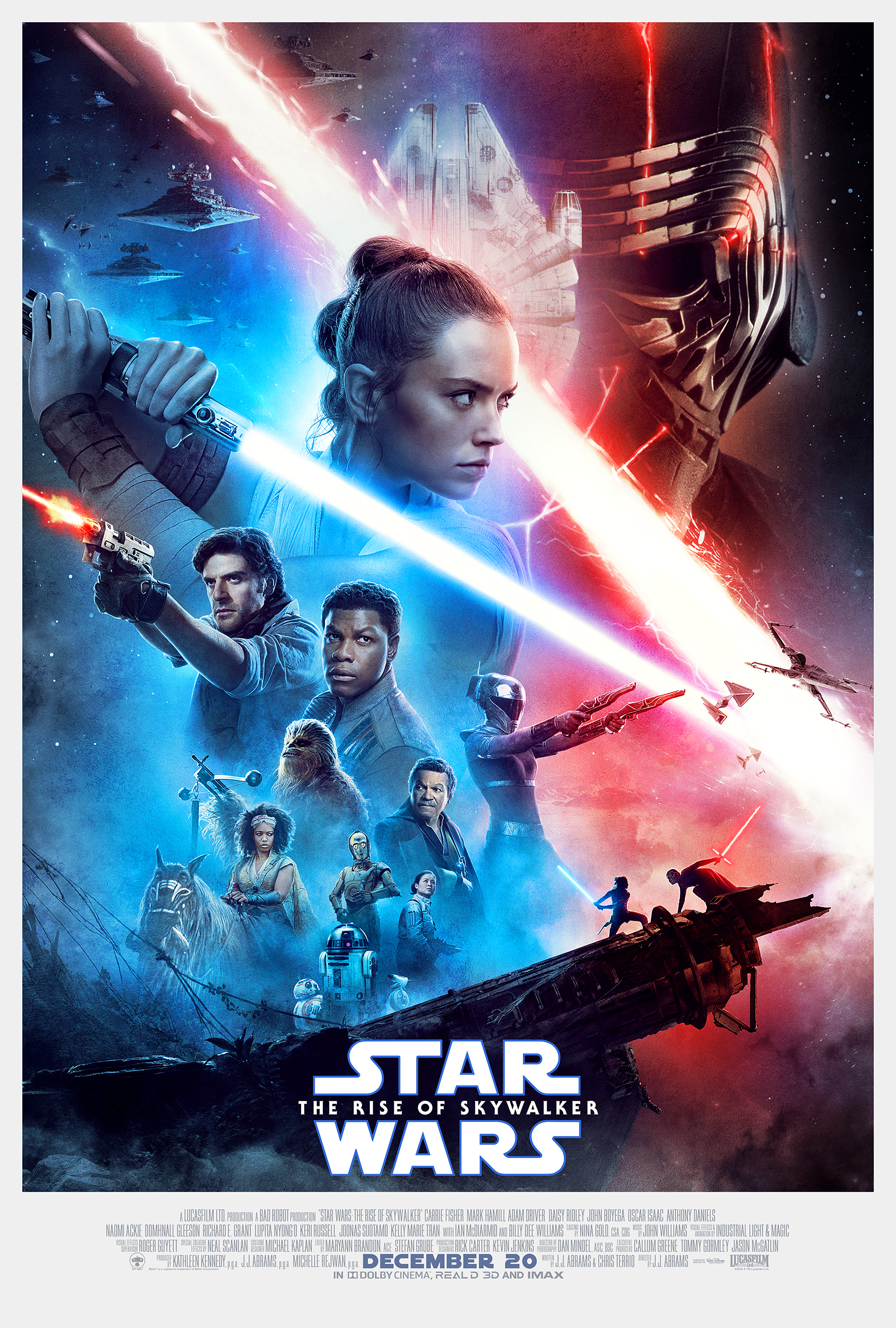 The Rise Of Skywalker posters