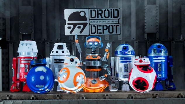 Disney guests visiting Star Wars: GalaxyÕs Edge will be able to stop by the Droid Depot to build their own R-series or BB-series droids that will act as a friend throughout the village of Black Spire Outpost. Star Wars: GalaxyÕs Edge opens in summer 2019 at Disneyland Resort in California and fall 2019 at Walt Disney World Resort in Florida. (David Roark/Disney Parks)