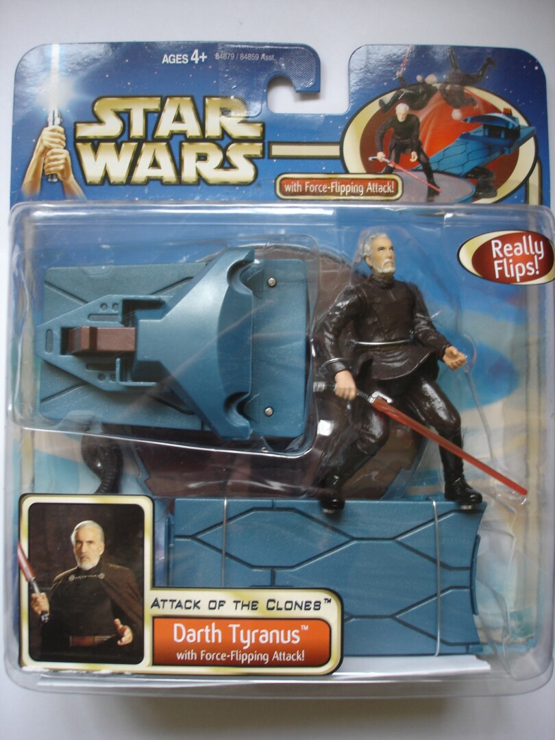 AOTC Deluxe Darth Tyranus with Force Flipping Action