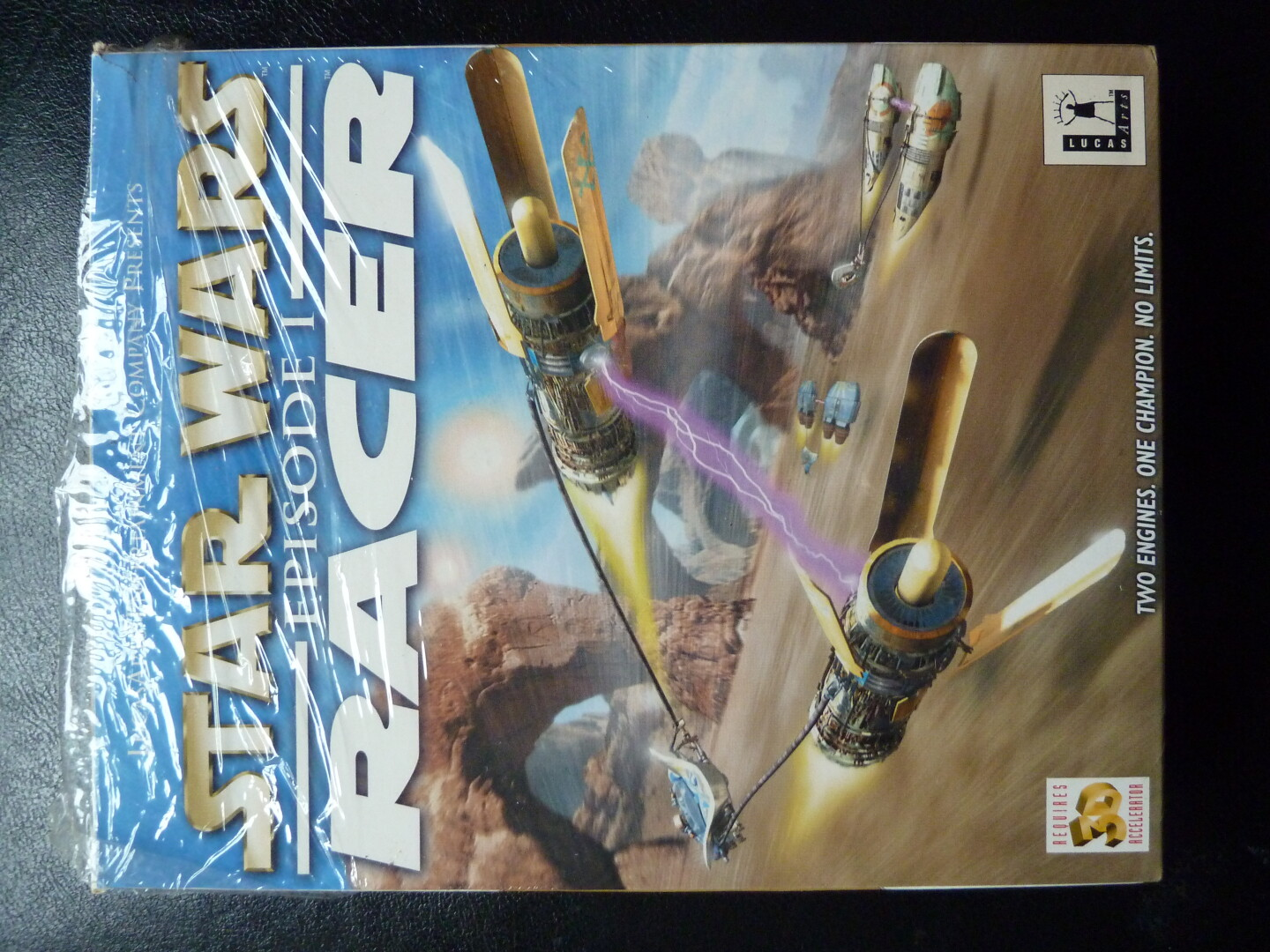 SW Episode 1 Racer PC CD-ROM Big box front