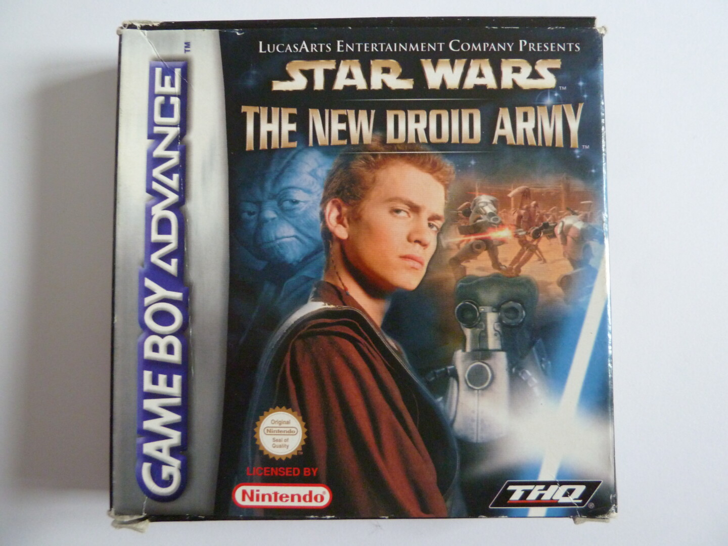 SW Episode 2 - The New Droid Army   Gameboy Advance