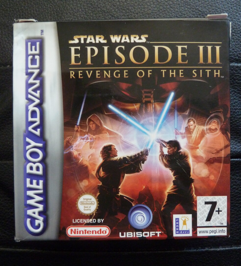 SW Episode 3 Revenge of the Sith GBA front
