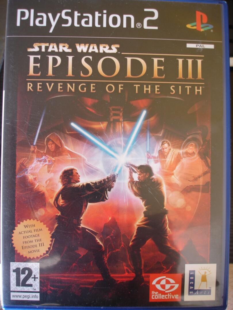 SW Episode 3 Revenge of the Sith PS2