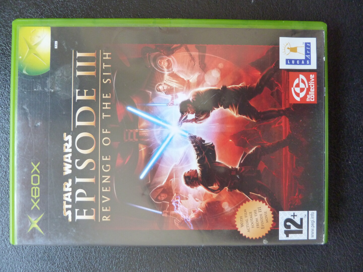 SW Episode 3 Revenge of the Sith Xbox front
