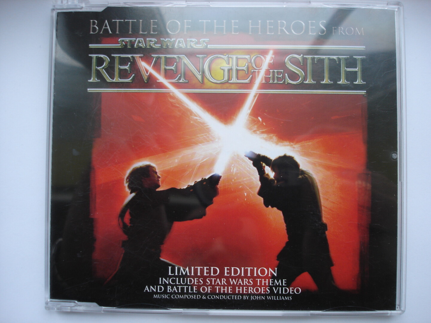 SW ROTS Battle of the Heroes CD