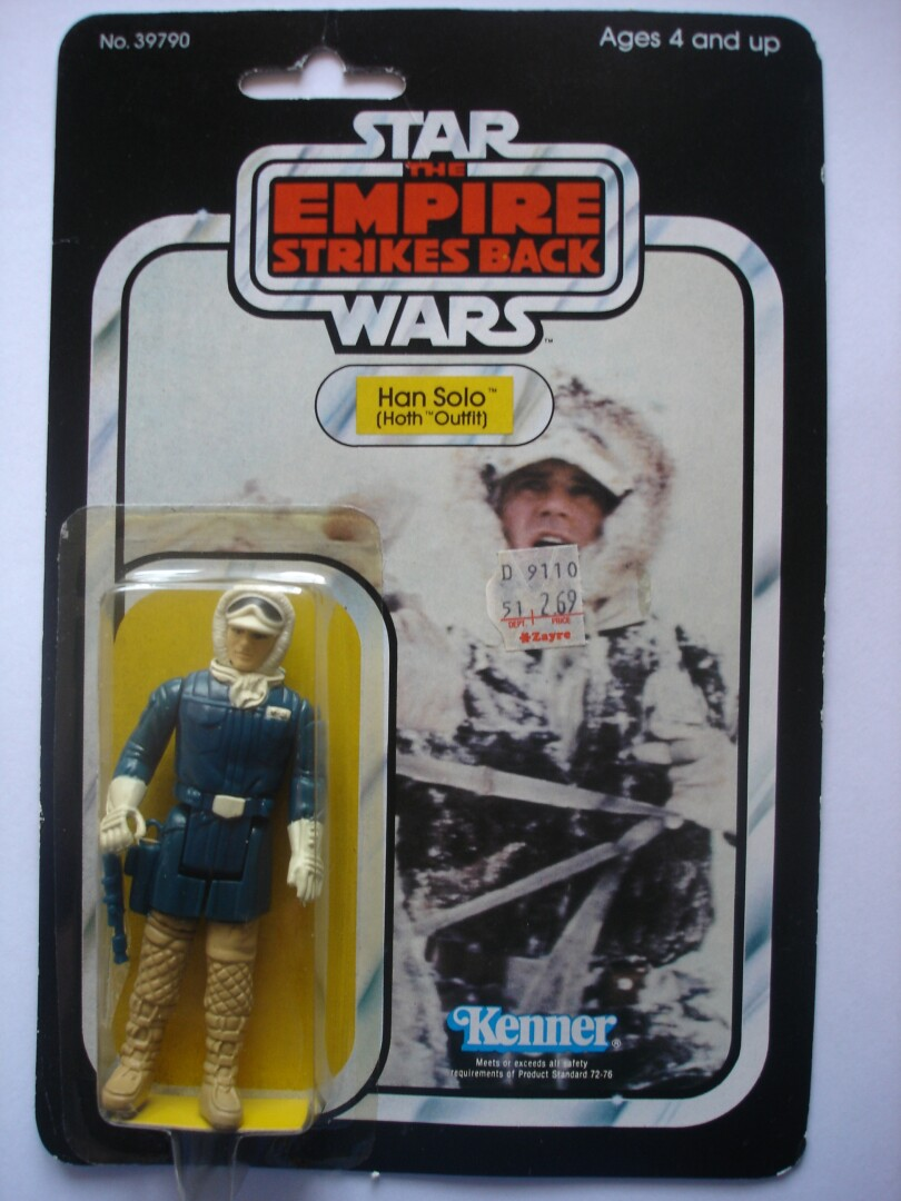 SW TESB Han Solo - Hoth Outfit (front)