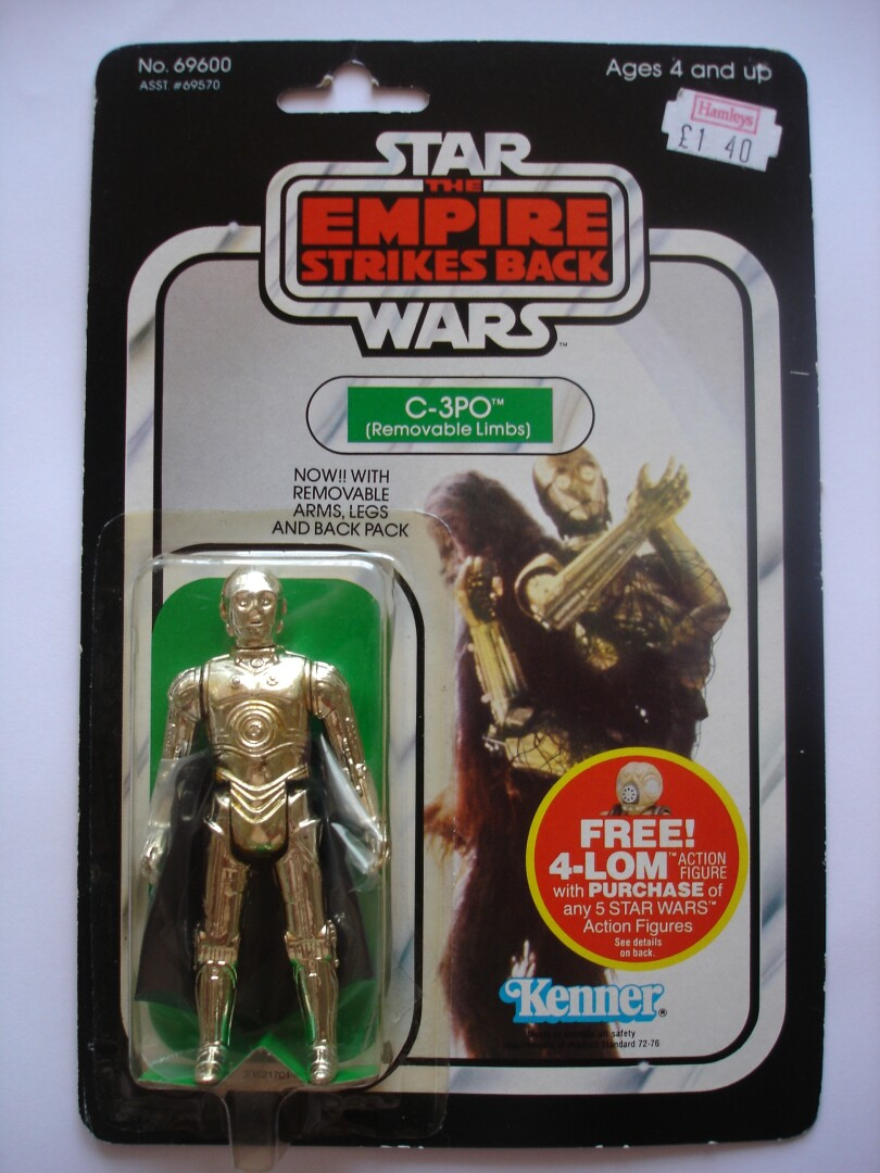 TESB C-3PO with Removable Limbs front