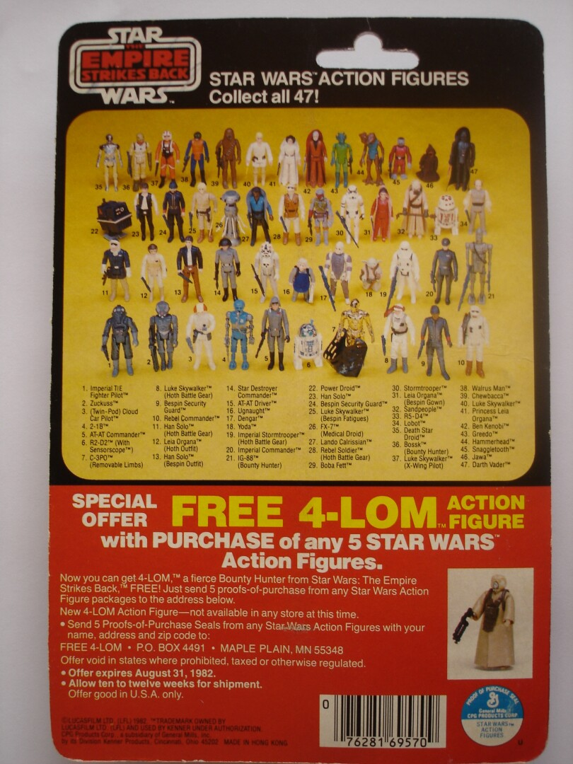 TESB C-3PO with Removable Limbs rear