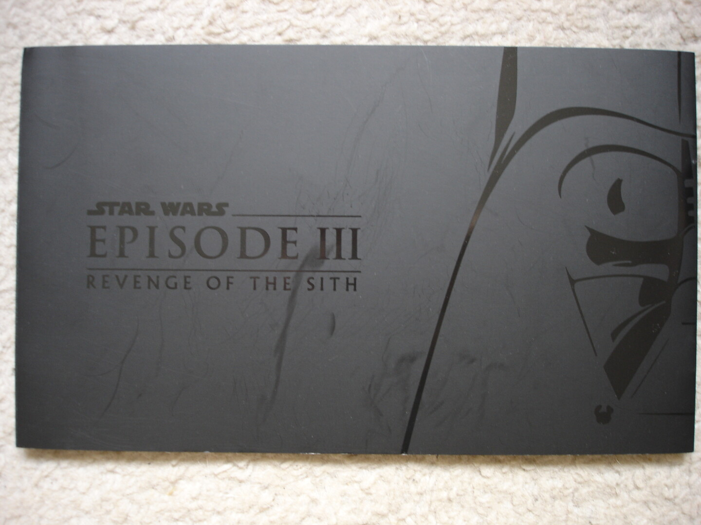 UK PREMIERE REVENGE OF THE SITH GLOSSY BOOKLET